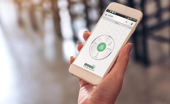 Varmestyringssystem via appen Nobø Energy Control